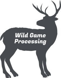 Black Deer Graphic | Wild Game Processing